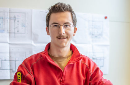 Claudio Hössli – Lernender Metallbaukonstrukteur