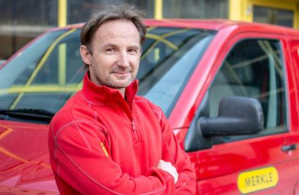 Erhard Brüesch – Servicemonteur
