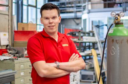 Joel Nänni – Lernender Metallbauer